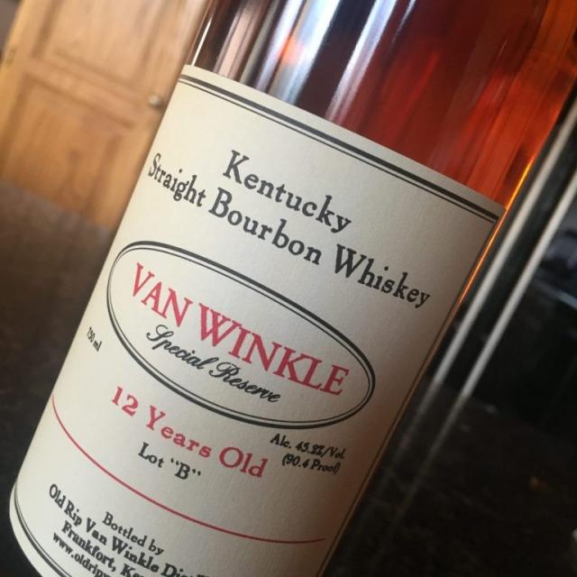 Van Winkle 12 Year Lot B