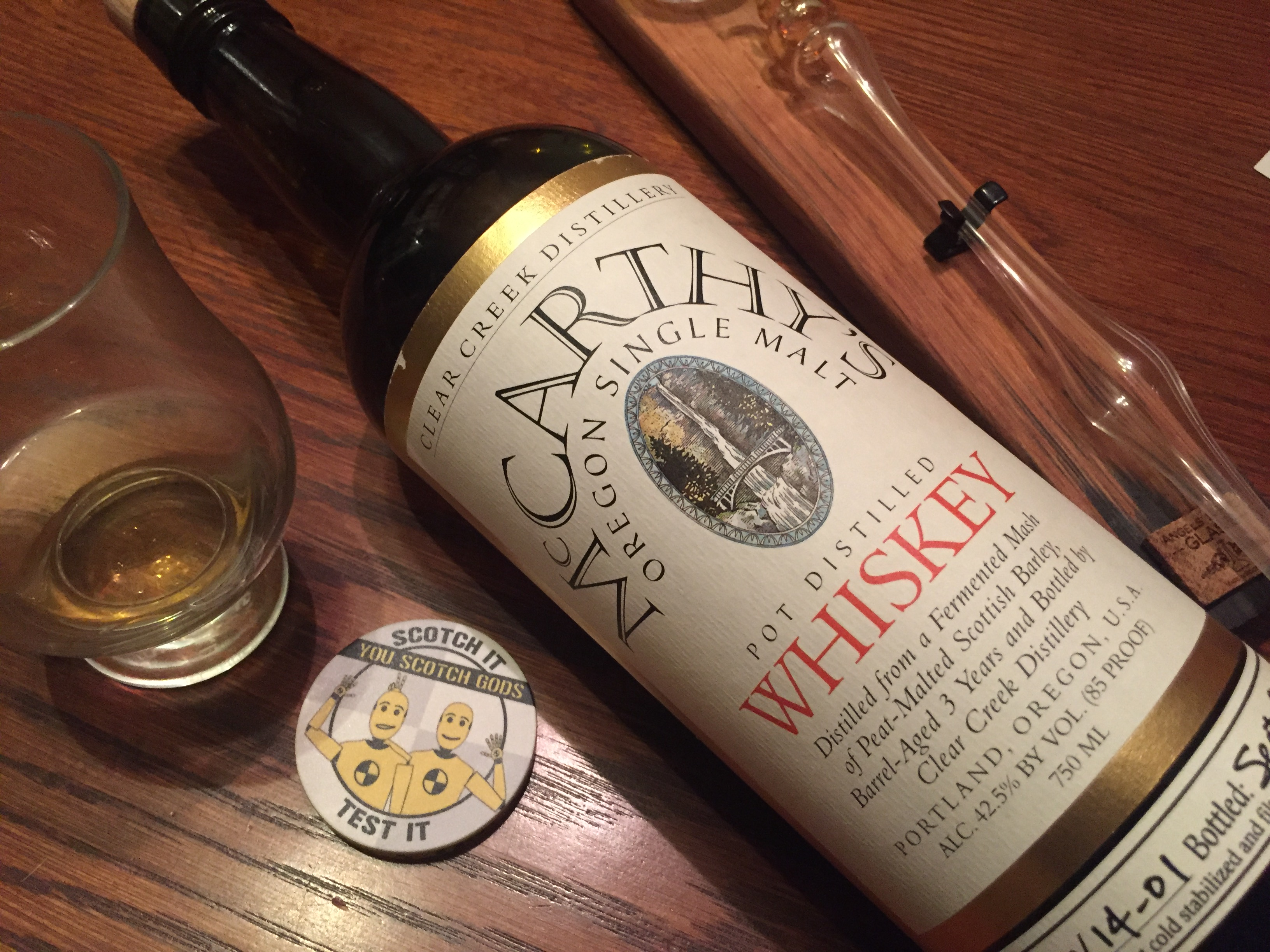 McCarthy's Oregon Single Malt Peated