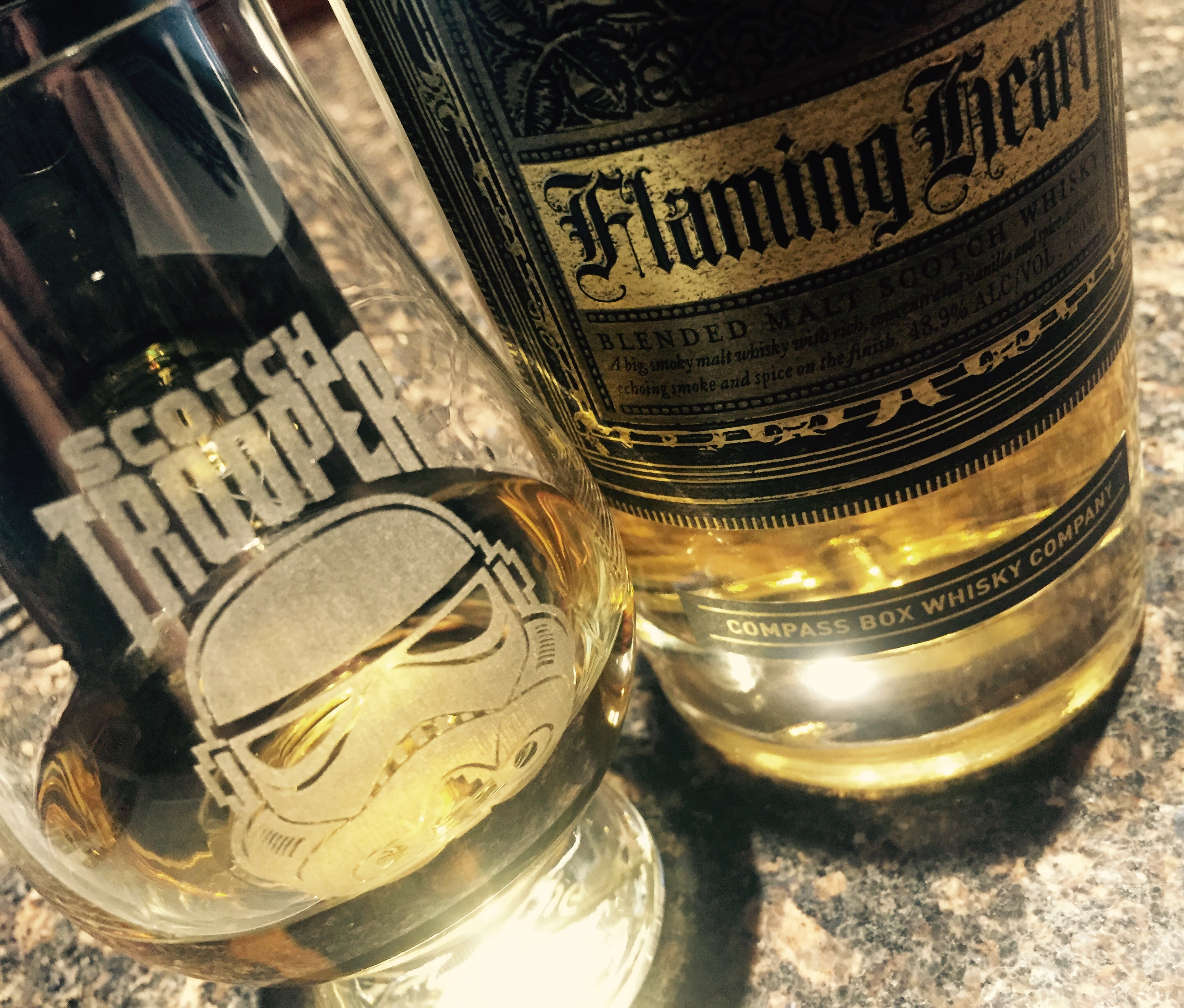 Compass Box Flaming Heart Scotch Trooper