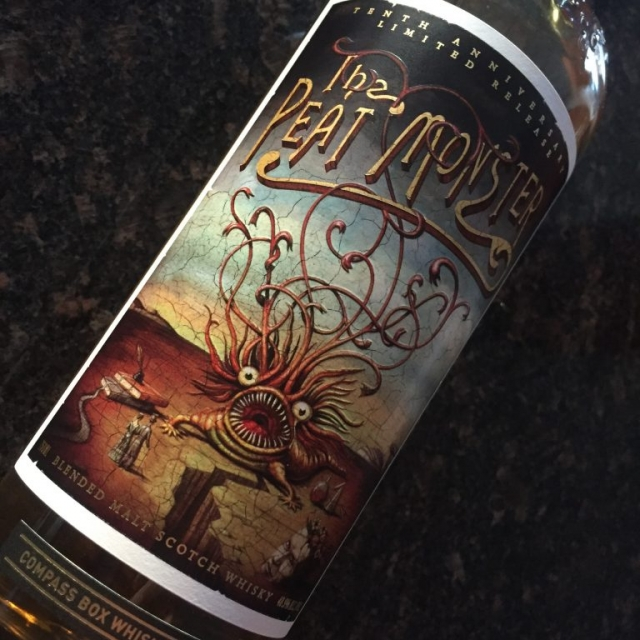 Compass Box Peat Monster 10th Anniv