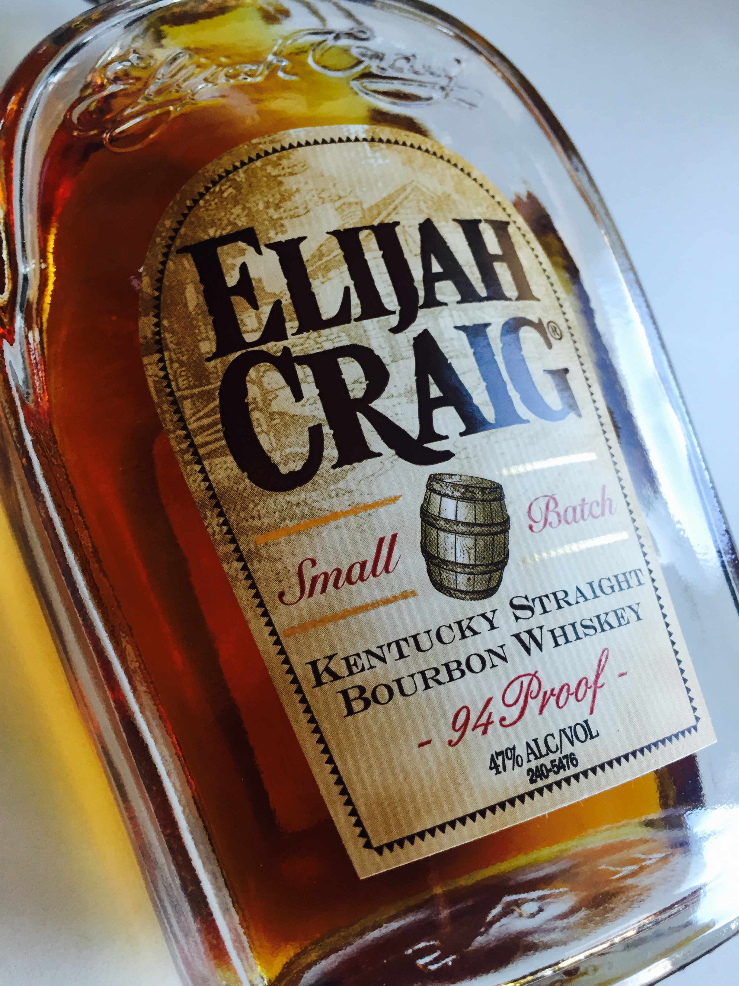Elijah Craig 12 Year Small Batch Bourbon