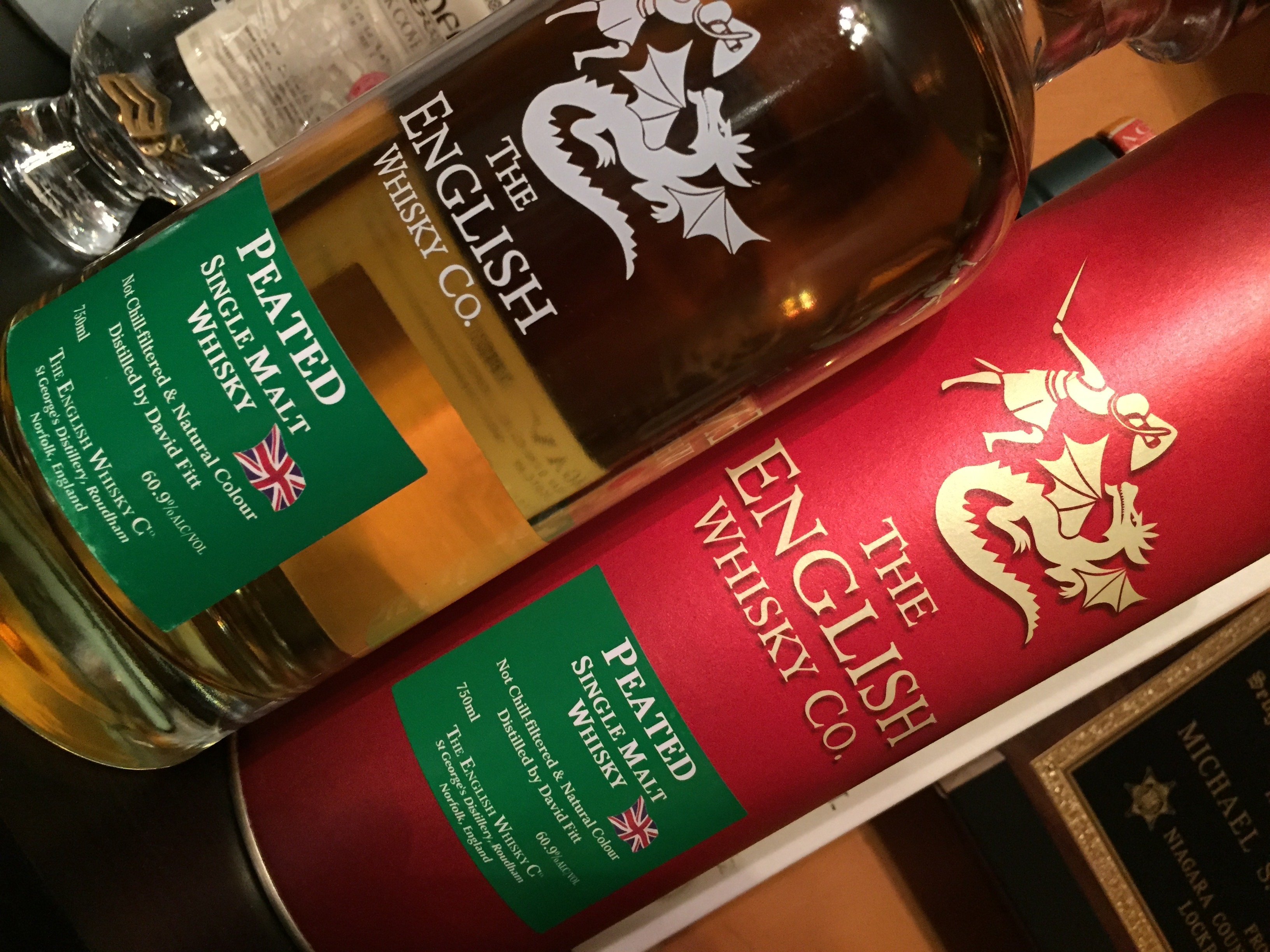 English Whisky Co. Peated Single Malt