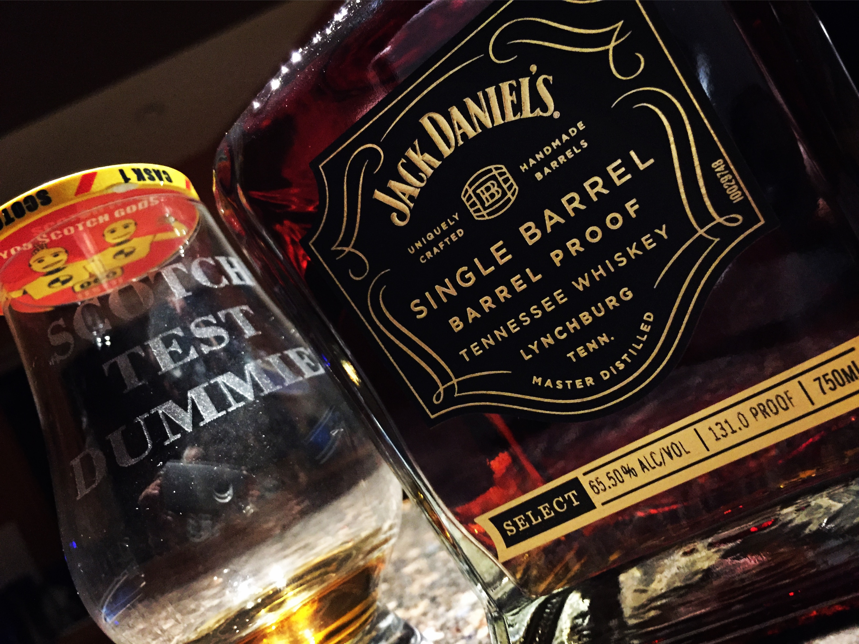 Jack Daniels Single Barrel Barrel Proof