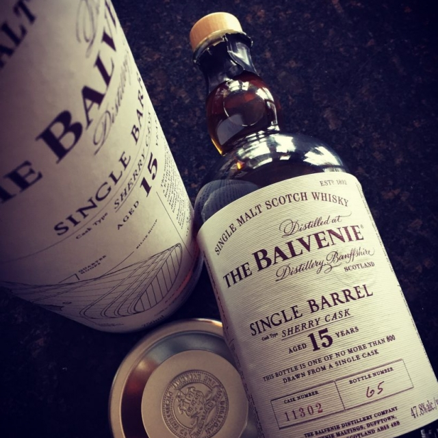 Balvenie 15 year Sherry Cask Single Barrel